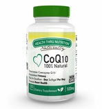 CoQ10 Ubiquinone 100mg 120 Softgels