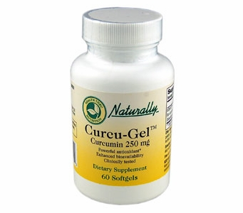 Curcu-Gel BCM-95� Enhanced Bioavailability Bio-Curcumin (250mg / 60 Softgels)