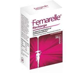 Femarelle® Recharge - For the Management of Menopausal Symptoms (56 Capsules)