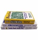 FREE 3 Book Natural Health Library (934 pages - Retail Price $32.99)
