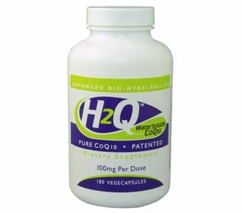 H2Q Advanced Bioavailability CoQ10 (100mg / 180 count) Pure Advanced Absorption Hydro-Q-Sorb� CoQ10