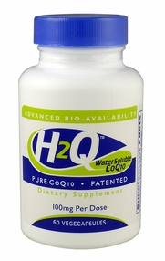 H2Q Advanced Bioavailability CoQ10 (100mg / 60 count)