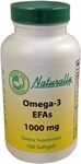 Omega-3 EFAs with 1,000 mg Fish Oil