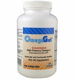 OmegaGel<br>High Potency Omega-3<br>180 Count