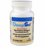 OmegaGel<br>High Potency Omega-3<br>60 Count