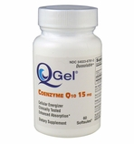 Q-Gel (15mg of Hydrosoluble CoQ10) 60 Softgels
