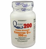 Q-Gel 200mg Double Strength Hydrosoluble CoQ10 (180 Softgels)