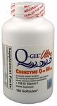 Q-Gel Ultra 60mg<br>Hydrosoluble CoQ10<br>180 Softgels