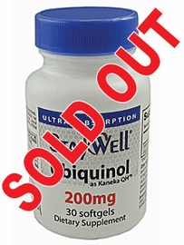 StayWell� 200mg Ubiquinol (as Kaneka QH�) $18.95 per bottle (30 count bottle)