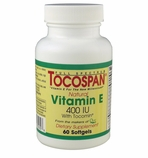 Vitamin E Full Spectrum TOCOSPAN (400 IU / 60 Softgels)