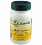 B-12 Triple Action Timed Release Formula (60 Tablets)