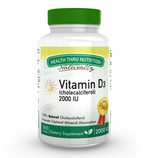 Vitamin D3 2,000 IU (365 Softgels)