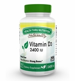 Vitamin D3 (as cholecalciferol) 2400 IU / 100 Softgels