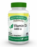Vitamin D3 (as cholecalciferol) 2,400 IU / 100 Softgels