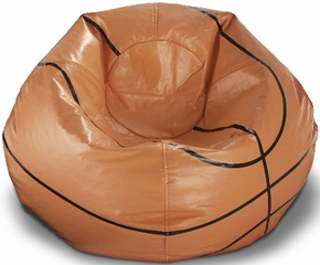 096 Basketball Matte Bean Bag