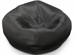 096 Black Soot Mesh Bean Bag