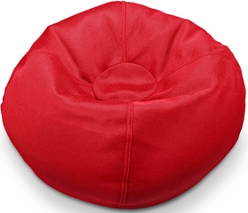 096 Cherry Red Mesh Bean Bag