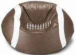 096 Football Matte Bean Bag