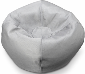 096 Gray Mesh Bean Bag