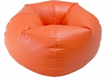 096 Orange Matte Bean Bag