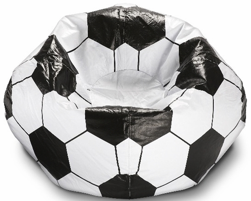 096 Soccer Ball Matte Bean Bag