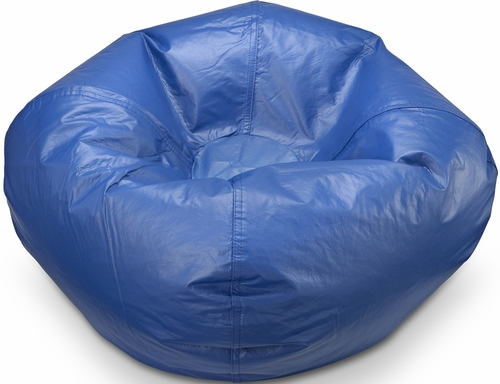 096 Stadium Blue Matte Bean Bag