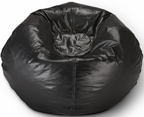 098 Black Matt Bean Bag