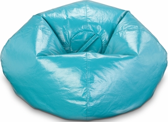 098 Deep Aqua Matte Bean Bag
