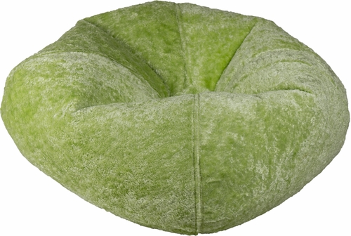 098 Lime Chenille Bean Bag
