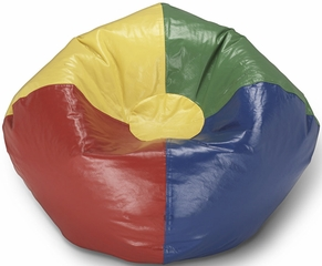 098 Multi Primary Matte Bean Bag