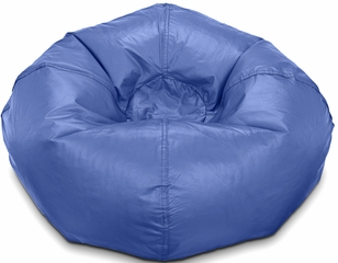 098 Navy Matte Bean Bag