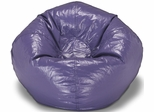 098 Purple Matte Bean Bag
