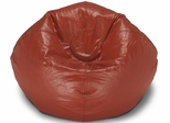 098 Red Matte Bean Bag