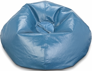 098 Teal Matte Bean Bag