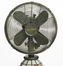 "10"" Mosaic Glass Table Fan - Flowers - Deco Breeze - DBF0753"