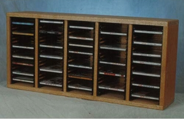 100 CD Desktop or Shelf Storage Cabinet - 509-1