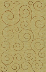 100% Wool Handknotted Rug - 5' x 8' - Aspen 5005 - International Rugs