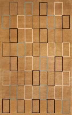 100% Wool Handknotted Rug - 5' x 8' - Aspen 5023 - International Rugs