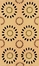 100% Wool Handmade Rug - 5' x 8' - Ceres 8018 - International Rugs