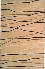 100% Wool Handmade Rug - 5' x 8' - Ceres 8027 - International Rugs