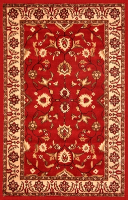 100% Wool Handmade Rug - 5' x 8' - Lifestyle 9290 - International Rugs