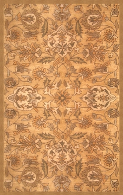 100% Wool Handmade Rug - 5' x 8' - Lifestyle 9390 - International Rugs