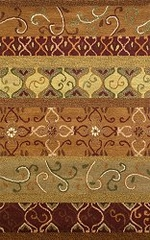 100% Wool Handmade Rug - Lifestyle 9045 - 8' x 10' - International Rugs - SI-SAM-LIFESTYLE-9045-2