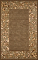 100% Wool Handmade Rug - Lifestyle 9110 - 5' x 8' - International Rugs - SI-SAM-LIFESTYLE-9110-1