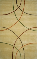 100% Wool Handmade Rug - Lifestyle 9115 - 5' x 8' - International Rugs - SI-SAM-LIFESTYLE-9115-1