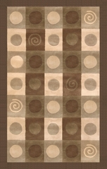 100% Wool Handmade Rug - Lifestyle 9130 - 8' x 10' - International Rugs - SI-SAM-LIFESTYLE-9130-2