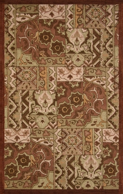 100% Wool Handmade Rug - Lifestyle 9185 - 5' x 8' - International Rugs - SI-SAM-LIFESTYLE-9185-1
