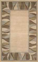 100% Wool Handmade Rug - Lifestyle 9305 - 5' x 8' - International Rugs - SI-SAM-LIFESTYLE-9305-1