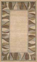 100% Wool Handmade Rug - Lifestyle 9305 - 8' x 10' - International Rugs - SI-SAM-LIFESTYLE-9305-2
