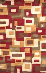 100% Wool Handmade Rug - Lifestyle 9310 - 5' x 8' - International Rugs - SI-SAM-LIFESTYLE-9310-1
